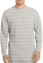 Polo Ralph Lauren Waffle-Knit Striped Crewneck Pullover