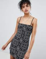 Daisy Street Cami Dress In Bandana Print