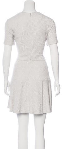 Opening Ceremony Textured A-Line Dress