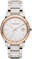 Burberry Watch, Women's Swiss Two Tone Stainless Steel Bracelet 38mm BU9006