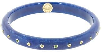 Mark Davis 18kt Yellow Gold Bakelite Bangle Bracelet