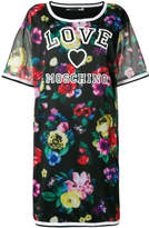 Love Moschino floral print T-shirt dress