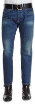 Tom Ford Regular-Fit Vintage Wash Selvedge Denim Jeans, Blue