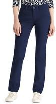 Chaps Women's Twill Straight-Leg Pants