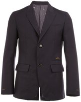 Undercover single breasted blazer - men - Cotton/Polyester/Wool - 3