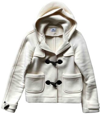 Lacoste Ecru Wool Jackets