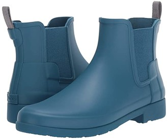 Hunter Refined Chelsea Boots (Rock Pool) Women's Boots