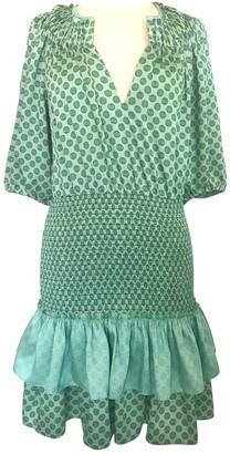 Sandro Spring Summer 2020 Green Polyester Dresses