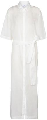 Sir. Alina cotton and linen maxi dress