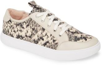 Donald J Pliner Suzie Snake Print Sneaker
