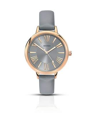 Sekonda Ladies Grey Strap Watch