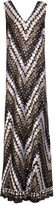 Marco De Vincenzo Polka-dot lace sleeveless gown
