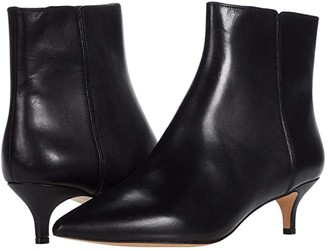 J.Crew Leather Emma Boot (Black) Women's Shoes