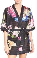 Ted Baker Print Swim Cover-Up Kimono