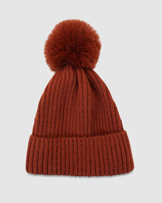 Morgan & Taylor Women's Brown Beanies - Lula Beanie - Size One Size at The Iconic