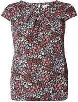 **Billie & Blossom Red Ditsy Shell Top