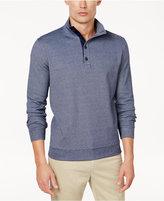 Club Room Men's Stripe Mock-Collar Sweater, Created for Macy's