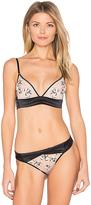 Calvin Klein Underwear CK Black Tempt Plunge Unlined Bra in Black. - size 32A (also in )