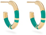 Aurelie Bidermann Positano gold-plated hoop earrings