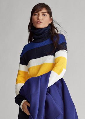Ralph Lauren Cotton Turtleneck Sweater