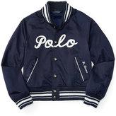 Ralph Lauren Baseball Jacket, Toddler & Little Girls (2T-6X)