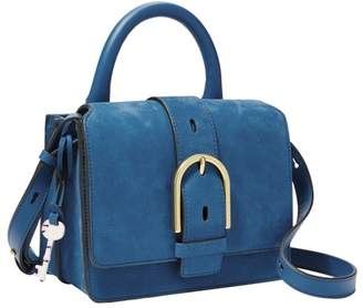 Fossil Wiley Top Handle Handbags Malibu Blue