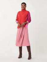 Diane von Furstenberg Apple Wool-Cashmere Turtleneck