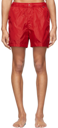 Ralph Lauren Purple Label Red Mayfair Swimsuit