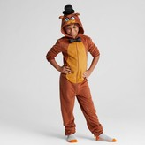 Five Nights at Freddy Boys' Five Nights at Freddy's Union Suit Pajama Set - Brown