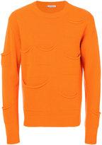 J.W.Anderson pocket embellished crew neck sweater