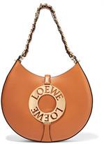 Loewe Joyce Leather Shoulder Bag - Tan