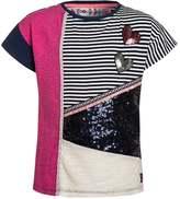 Desigual OSHAWA Print Tshirt navy