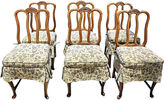 One Kings Lane Vintage French Dining Chairs, S/6