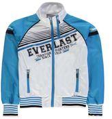 Everlast Kids Track Top Jacket Junior Boys Breathable Lightweight Stripe Print