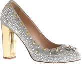 J.Crew Collection Etta crystal and stud pumps