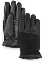 UGG Leather Combo Tech Gloves