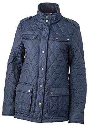 James & Nicholson Women's Steppjacke Ladies Diamond Quilted Jacket,S