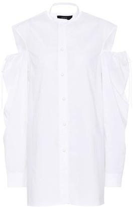 Joseph Cold-shoulder cotton blouse