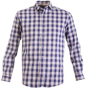 Double Two Tonal Check Casual Shirt