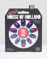 Elegant Touch House Of Holland By Foil Fade Nails