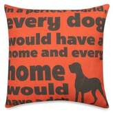 """Bed Bath & Beyond """"In a Perfect World"""" Outdoor Throw Pillow in Red"""