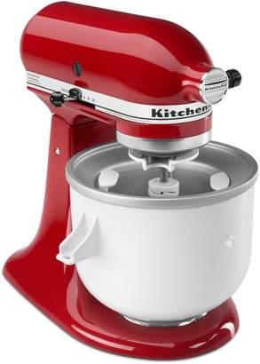 KitchenAid Ice Cream Stand Mixer Attachment KICA0WH