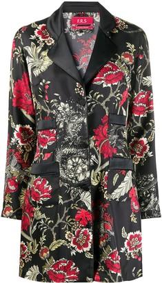 F.R.S For Restless Sleepers Floral Print Kimono Shirt