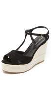 Sergio Rossi Edwige Wedge Sandals