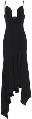 Thierry Mugler Stretch-wool dress