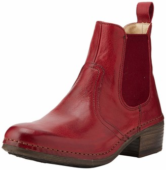 Neosens S3077 Dakota Carmin/ Medoc Womens Ankle Boots