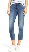 KUT from the Kloth Women's Lauren Stretch Crop Straight Leg Jeans