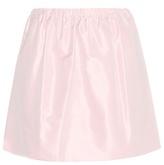 Miu Miu Taffeta Miniskirt