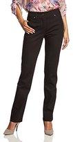 Gerry Weber Women's Danny Straight Leg Jeans - Brown - 34 W/34 L (Manufacturer Size: 34L)