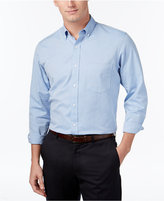 Club Room Men's Big and Tall Solid Oxford Shirt, Classic Fit